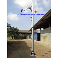 Tiang Lampu Antik LED