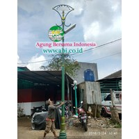 Tiang Lampu Antik ABI Model 8 1