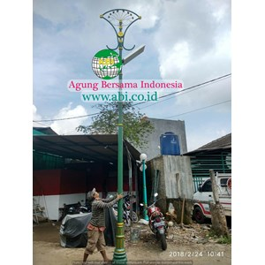 Tiang Lampu Antik ABI Model 8