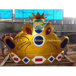 Mahkota Sulawesi 2 Meter  By Agung Bersama Indonesia