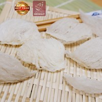 Premium Edible Bird's Nest from Indonesia (Grade : Big Broken Nest)