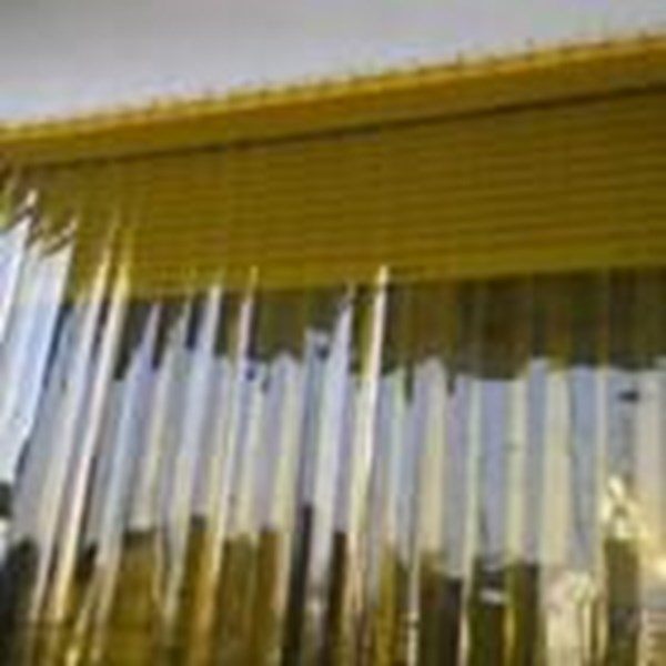 Tirai PVC Curtain Yellow