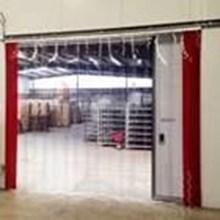 Tirai PVC Curtain Untuk Supermarket  (Lucky 081210121989)
