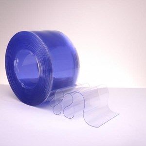 Tirai pvc curtain strip biru (Lucky 081210121989)