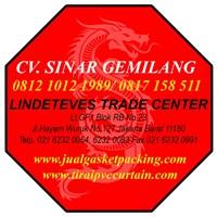 Jual Tirai PVC Curtain Blue Clear Lampung (Lucky 081210121989) 2
