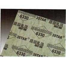 GASKET 3 STAR NON ASBESTOS 6330(Lucky 081210121989)Graphite Gasket