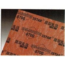GASKET 3 STAR NON ASBESTOS 6700 (Lucky 081210121989)Graphite Gasket