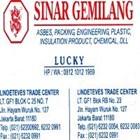 Tirai PVC Curtain Plastik Kuning Surabaya  3