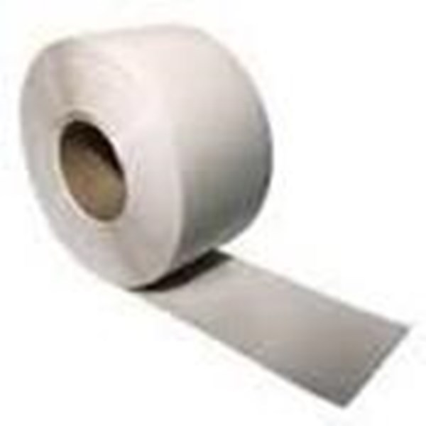 Tirai PVC Curtain White Solid
