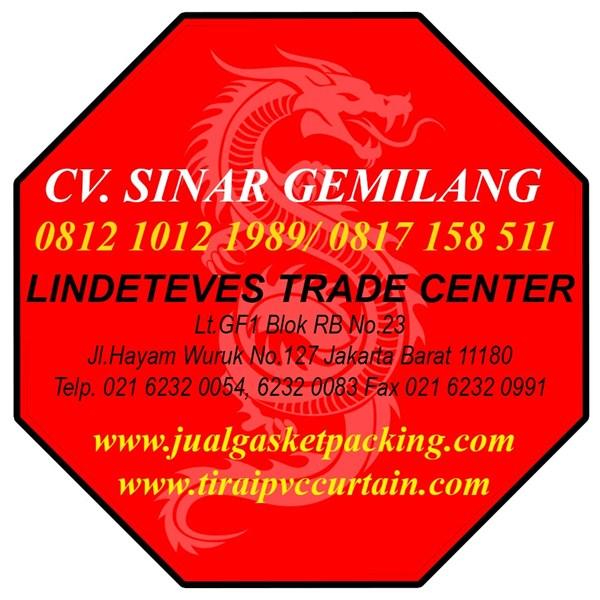 Tirai Strip PVC Curtain Hijau Dop Riau (Lucky 081210121989)