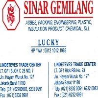 Distributor Gland Packing Tombo Nichias 2220 (Lucky 081210121989) Gland Packing Teflon  3