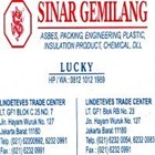 Gland Packing Tombo Nichias 9077 ( Lucky 081210121989) 3