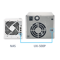 Jual Nas Qnap Expansion Unit Ux-500P