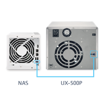 Nas Qnap Expansion Unit Ux-500P