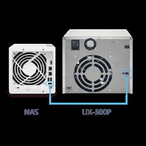 Nas Qnap Expansion Unit Ux-500P
