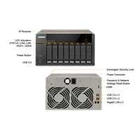 Nas Qnap Ts-851 (1Gb Ram) 1