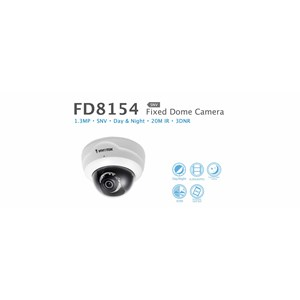 Vivotek Fixed Dome IP Camera FD8154-F4