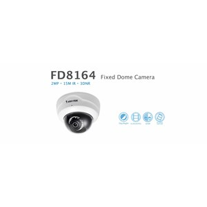 Vivotek Fixed Dome IP Camera FD8164-F3