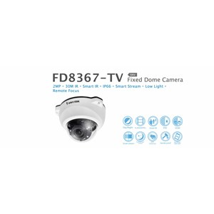 Vivotek Fixed Dome IP Camera FD8367-TV