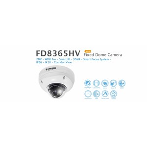 Kamera CCTV Fixed Dome IP Camera Vivotek FD8365HV