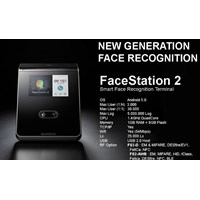Fingerprint Suprema FaceStation 2 1
