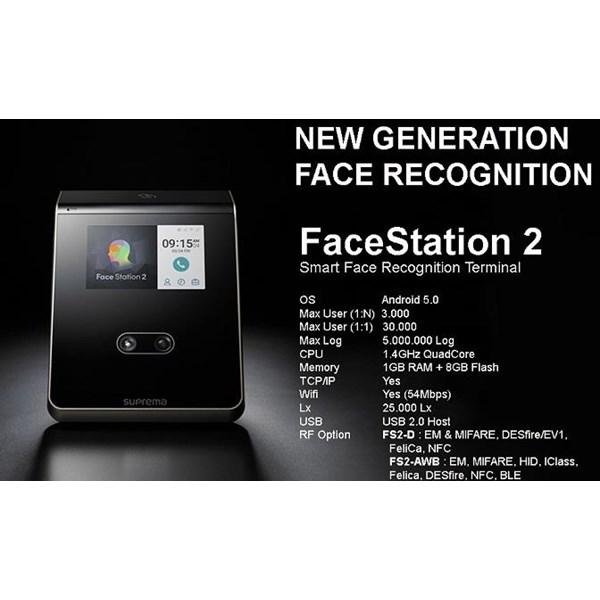 Fingerprint Suprema FaceStation 2