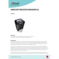 Jual mesin penghancur kertas GBC MERCURY RDS 2250 2