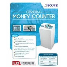 Mesin hitung uang MONEY COUNTER SECURE LD-990A