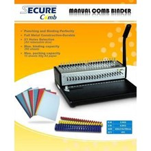 Mesin jilid SECURE COMB MANUAL