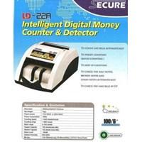 Mesin hitung uang MONEY COUNTER SECURE LD-22A