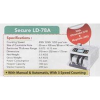 Sell Mesin hitung uang MONEY COUNTER SECURE LD-78A 2