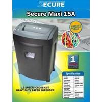 Mesin pengahncur kertas SECURE MAXI 15A