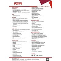 Distributor IP PHONE FANVIL C66 3