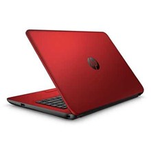 Notebook HP 14-ac146TX RED