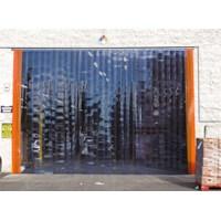 PVC strip curtains to shed bandung