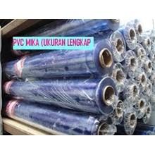 Plastik PVC mika kaku Bening Hubungi 081295460660