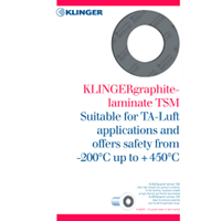 Klinger Graphite TSM 150 B-TA LUFT 1