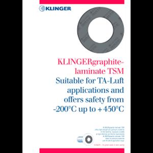 Klinger Graphite TSM 150 B-TA LUFT