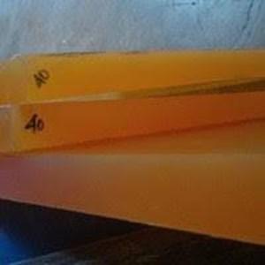 PU (polyurethane) Lembaran Orange