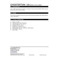 Jual  Gasket Rubber Chesterton 124 2