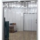 tirai pvc curtain bening murah 1