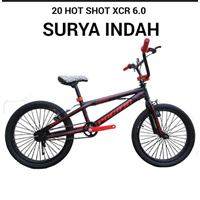 Sepeda BMX 20 Hot Shot XCR 6.0 1