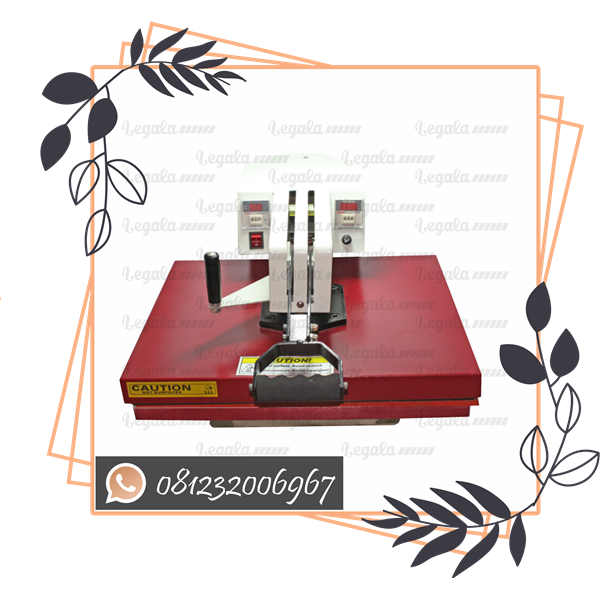MESIN PRESS KAOS BIG SWING HIGH PRESSURE 40X50 LEGALA