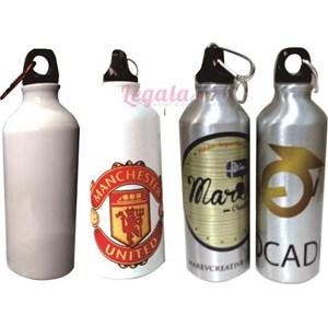 Botol Sport Silver Aluminium