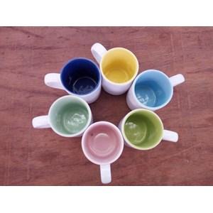 Mug Lucky warna Dalam
