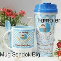 Jual Mug Sendok dan Tumbler