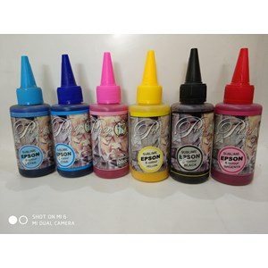 Tinta Sublim Picaso F6 warna light cyan biru muda