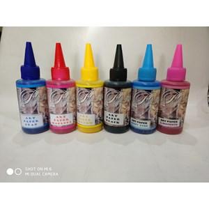 Tinta Art Paper Warna cyan biru