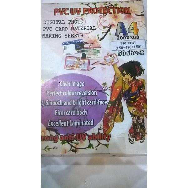 Bahan ID Card PVC White UV