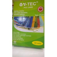Jual  Bahan ID Card PVC V Tech